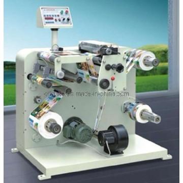 Máquina de corte y rebobinado de etiquetas
