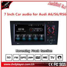 Car Navigtion USB o Android 5.1 Conexiones de teléfono para Audi A6 S6 DVD