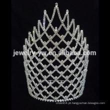 Coroa grande da tiara da representação histórica por atacado quente da venda