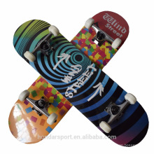 9 ply Chinese maple complete skateboards for sale with low price