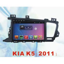 Android System Car DVD Player para KIA K5 2011 com GPS de navegação