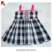 JannyBB design spaghetti strap check dress