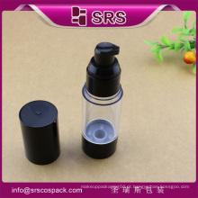 A027 15ml 30ml 50ml COMO o frasco airless, frascos cosméticos luxuosos da injeção