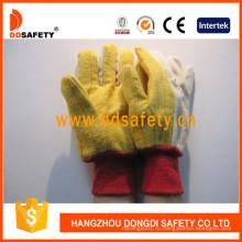 Рабочие перчатки из золотого холста Dcd132