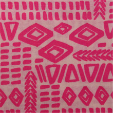 Cotton Rayon Blended Printed Fabric