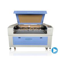 Chine haute vitesse 150w co2 laser cnc machine de découpe