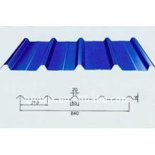 840 rollo de techo acristalado que forma la máquina