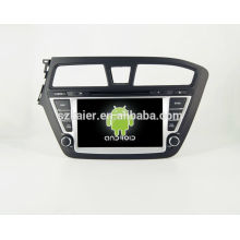 HOT! Voiture dvd avec lien miroir / DVR / TPMS / OBD2 pour 8 pouces écran tactile quad core 4.4 Android système Hyundai I20