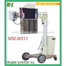 MSLMX11-M 50mA Unité de rayons X de chevet Appareil mobile à rayons X appareil numérique à rayons X