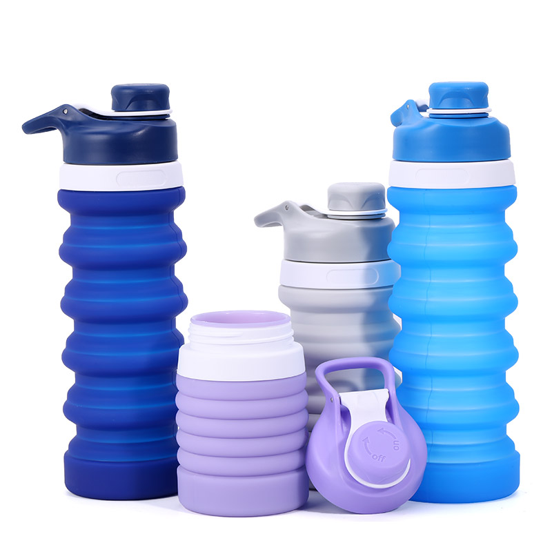 Popular silicone water bottle