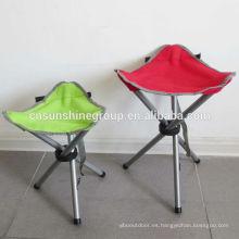 Al aire libre plegable silla de pesca inflable con bolsa de transporte para la caza.