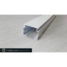 Pulverbeschichtete vertikale Aluminium-Blindkopfschiene 32 mm Höhe