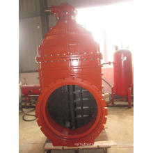 Awwa C509 Resilient Seated Gate Valve, Gearbox with Top Flange