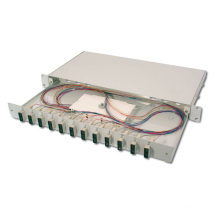 Online-Shopping 12-Port-Schwarzfaser-Patch-Panel