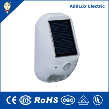 Warm White 1W Solar Powered LED Outdoor Lamp