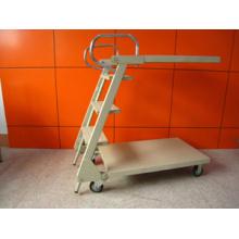 Тележка металлическая лестница с колесами (YRD-Д2)
