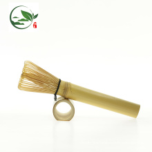 Golden Bamboo Matcha Whisk Chasen- Long Stem (for Matcha or coffee)