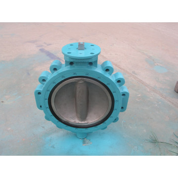 Cast Iron Body Double Offset Butterfly Valves
