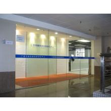 Офисный автоматический дверной оператор с индукционной стеклянной дверцей