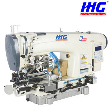 IH-639D-CSPChainstitch botten Hemming Direct Drive Machine