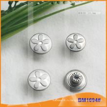 Пользовательские Серебряная Джинсовая кнопка BM1694