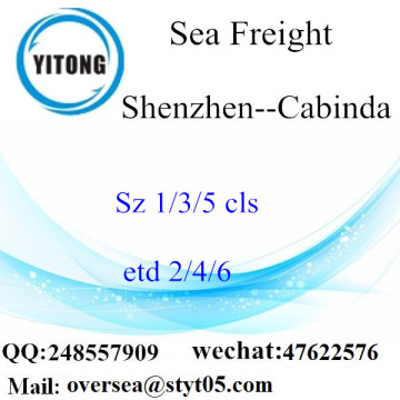Shenzhen Port LCL Consolidation To Cabinda