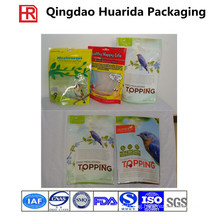Plastic Pet Food Packaging, Ziplock Stand up Pet Food Bag
