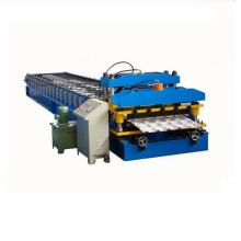 Máquina formadora de rollos de láminas de hierro corrugado