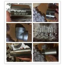 instalación de tuberías astm a182 f22