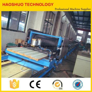 Machine de fabrication de panneaux sandwich en PU