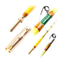 GMR008 fibra de vidro sólido japão vara de pesca personalizado trolling vara haste do barco