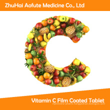 Tga Certificated 600mg Vitamin C Film Coated Tablet