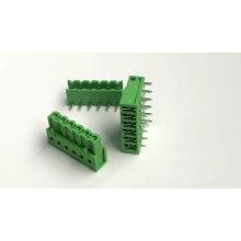 Placa PCB para subir terminales de clavijas dobladas de alambre