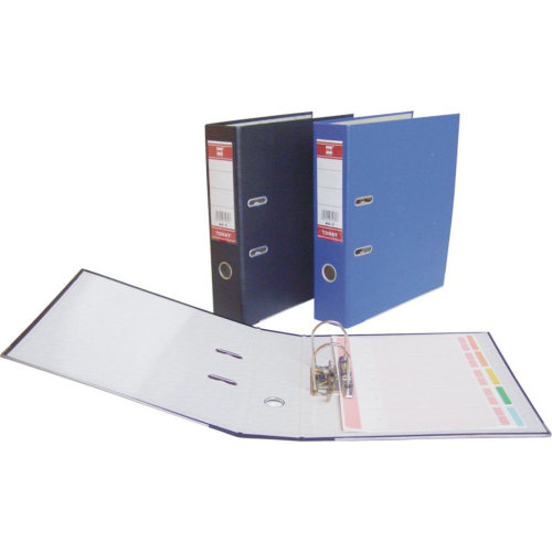 blaue A4 PP Lever Arch File