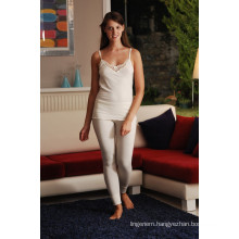 THERMAL ALL WOOL RUCHED UNDERSHIRTS,VEST