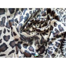 2012 moda Leopard patrón impreso bufanda