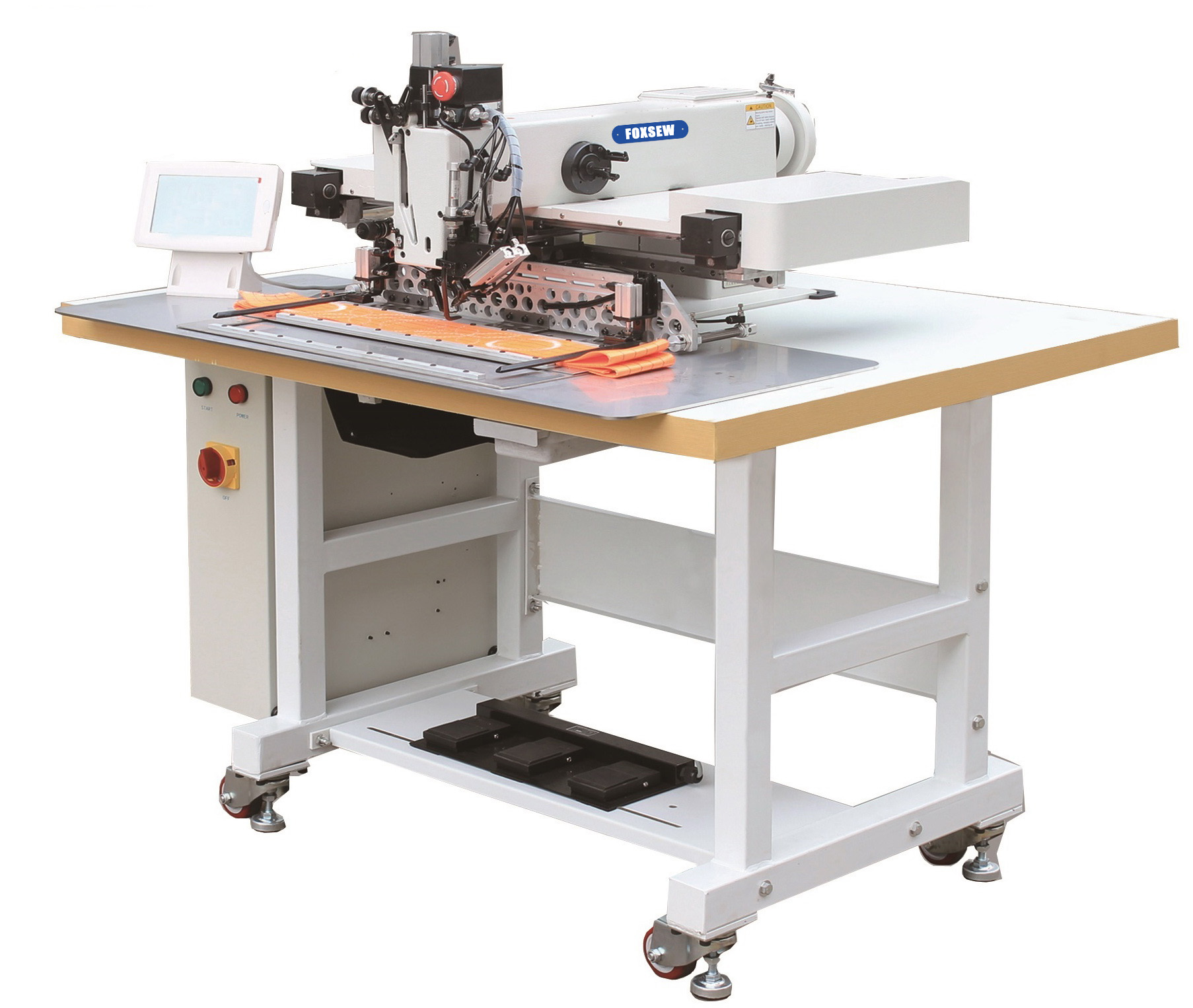KD-5020H Programmable Heavy Duty Automatic Pattern Sewing Machine