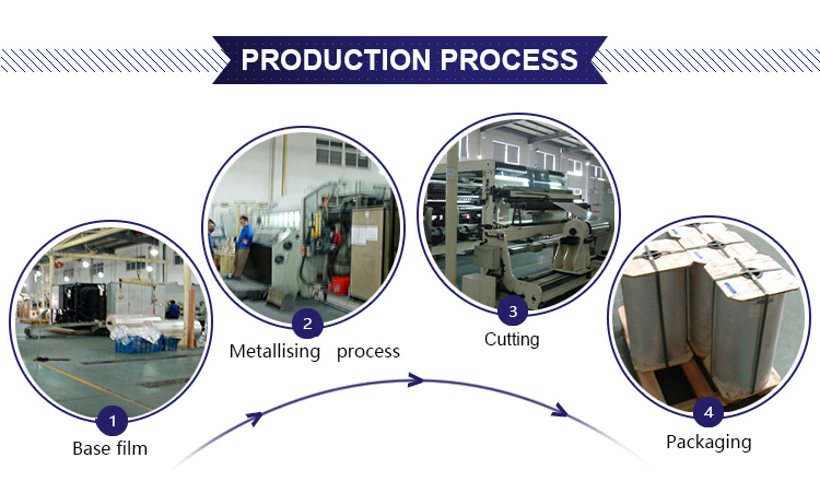 metallizing process