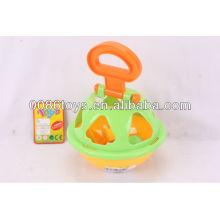 Rompecabezas de bolas de plástico (clasificador de formas para que los niños aprendan)
