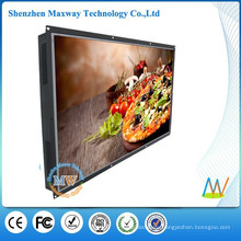 55 inch big screen LCD open frame advertising