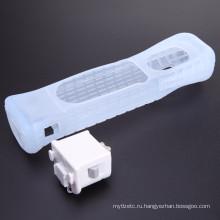 Движение плюс адаптер Датчик защитный чехол для Nintendo для консоли Wii движение плюс пульт дистанционного управления Чехол силиконовый ускоритель