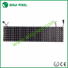 Visor flexível programável ws2812b 3535 matriz RGB 16x16 8x32 P10 256 pixels