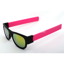 Promotional Protable Slap Cuff Sunglasses