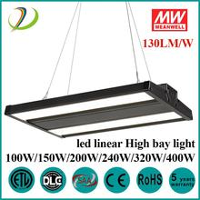 DLC / ETL 150W LED linéaire HighBay Light
