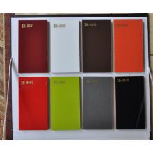Tablero de MDF de acrílico brillante para puertas de cocina (4 'x 8')