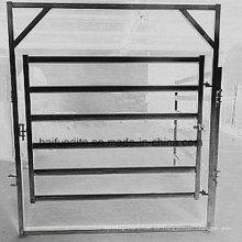 Valla de metal HDG Paneles de vallas de ganado Barreras de animales