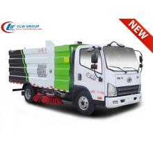 2019 FAW 5cbm camion balayeuse de route à vendre