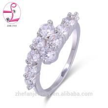 Anéis de diamante de luxo elegante ródio chapeamento anéis hurrem sultan anel Ródio banhado a jóias é sua boa escolha