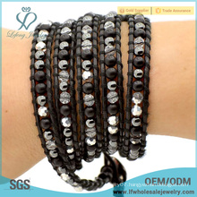 Cheap price boho style jewelry beautiful multi wrap bracelet