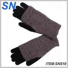 2013 guantes de lana de sexo con pantalla táctil para señora